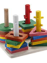 cheap -Four Sets of Column Building Block Educational Toys