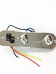 Недорогие -Панель управления электрогитара серебро набор (с потенциометра переключателя)