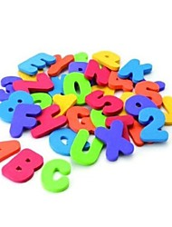 Недорогие -36 штук манчкин ванна учить буквы& Номера придерживаться на детское ванной игрушки