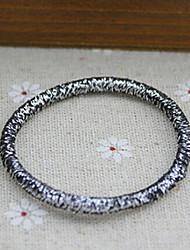 Недорогие -блеск ленты для волос золото серебро резинки случайных доставки