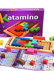 cheap -Wooden Brightly Colored Magic Block Toys