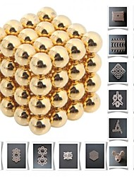 cheap -64 pcs Magnet Toy Building Blocks Super Strong Rare-Earth Magnets Neodymium Magnet Puzzle Cube Metal Adults' Boys' Girls' Toy Gift