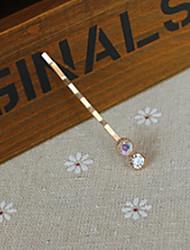Недорогие -конфеты цвета алмазов шпильки один дюйм корейский края кристалла клип