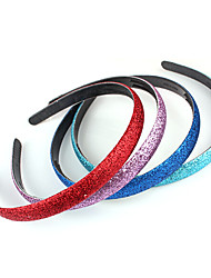 cheap -Shiny Grind Arenaceous Bead Candy Color Hair Band