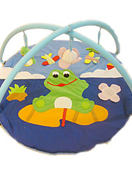 cheap -Soft Crawling Play Mat Frog Carpet for Children