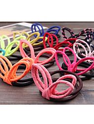 Недорогие -флуоресцентные цвета конфеты цвет шифон кроличьи уши кольцо случайных доставки