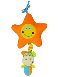cheap -Babyfans ™ Baby Star and Monkey Cartoon Shaped Stuffed Music Educational Toys