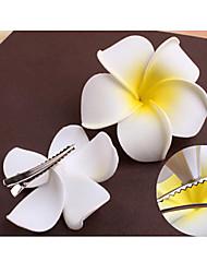 Недорогие -франгипани цветок шпильки небольшие размеры
