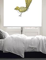 cheap -Modern Impressionistic Bird Roller Shade
