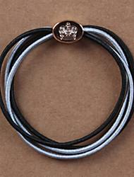 Недорогие -прекрасный кольцо волосы провод волос веревки случайной доставки