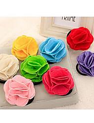 Недорогие -камелии конфеты шин цветов розы ленты для волос случайных доставки