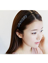 cheap -Lovely Korean Style Handmade Pearl Headbands Hair Accessories Random Color