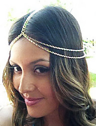 cheap -Headbands For Party Daily Casual Alloy Gold