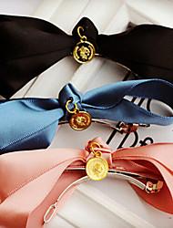Недорогие -корейские моды блесток лук заколки сладкий весенний случайный цвет