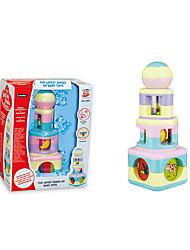 Недорогие -красочные башни формы дети ребенок кольцо колокол игрушки
