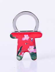 cheap -the skirt shape of lotus pattern metal silver keychain toys