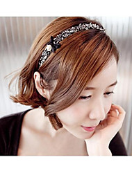 cheap -Elegant Pearl  Bowknot Headbands Hair Accessories Random Color