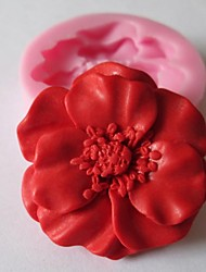 cheap -1pc Silicone Eco-friendly Valentine's Day DIY For Cake For Cookie For Chocolate Mold Bakeware tools