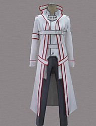cheap -Inspired by SAO Swords Art Online Kirito Anime Cosplay Costumes Japanese Cosplay Suits Patchwork Long Sleeve Coat Pants Belt For Men's / Cloak / Cloak