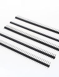 cheap -40-Pin 2.54mm Pitch Pin Headers (5 PCS)
