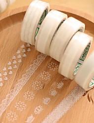 Недорогие -прозрачный кружевной декоративные ленты (случайным образом 1 шт)