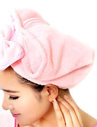 Недорогие -мило лук шляпа Сверхпоглощающий сушка волос крышка