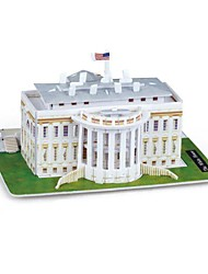 cheap -Famous buildings Wooden Puzzle Wooden Model Paper EPS Kid's Adults' Toy Gift