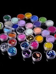 cheap -36 pcs Glitter & Poudre / Acrylic Powder / Decoration Kits Abstract / Classic Daily