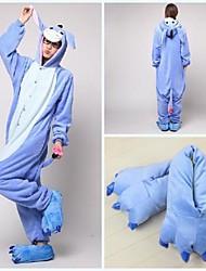 cheap -Adults' Kigurumi Pajamas with Slippers Donkey Animal Onesie Pajamas Coral fleece Cosplay For Men and Women Animal Sleepwear Cartoon Festival / Holiday Costumes