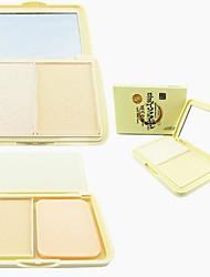 abordables -3 couleurs Poudres Poudre Sec / Lueur Visage Maquillage Cosmétique