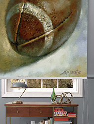 cheap -Modern Oil Painting Style Rugby Roller Shade