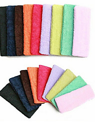 cheap -Yoga Candy Color Hair Hoop Toweling Hair Band Random Delivery
