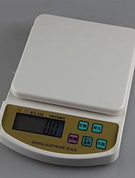 Недорогие -кухня пищевые цифровые весы на счетах в трее 1000г / 0,1 г, пластиковые 22.8x16x4cm