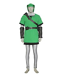 cheap -Inspired by The Legend of Zelda Link Video Game Cosplay Costumes Cosplay Suits Patchwork Vest Top Pants Costumes