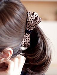 cheap -Classic Leopard Bow Hair Grip