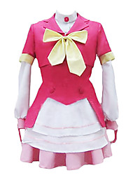 cheap -Inspired by AKB0048 Cosplay Anime Cosplay Costumes Japanese Cosplay Suits Dresses Cosplay Tops / Bottoms Patchwork Coat Top Skirt For Women's
