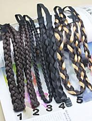Недорогие -небольшой размер упругой ложным поворот волосы сотка группа случайных доставки