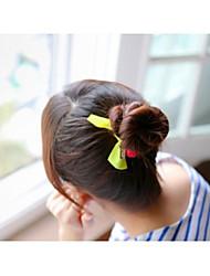Недорогие -прекрасный конфеты цвет круглая форма кристалла бантом связи волос волос круг случайный цвет