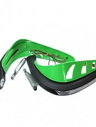 cheap -7/8''  Plastic Motorcycle Handguard Protector With LED Light For Honda Pit Dirt Pocket Bike  ATV