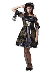 cheap -Pirate Cosplay Costume Women's Halloween Carnival Festival / Holiday Polyester Women's Carnival Costumes / Hat
