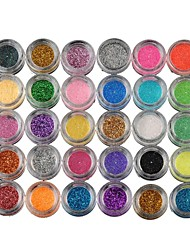 cheap -30 Colors Eyeshadow Palette Powders Eye Matte Shimmer Glitter Shine smoky Party Makeup Cosmetic Gift