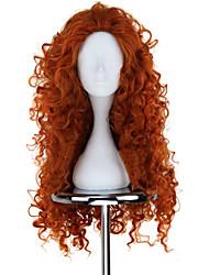 cheap -Brave Mavis Cosplay Wigs Women's 30 inch Heat Resistant Fiber Orange Anime