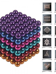 cheap -216 pcs 5mm Magnet Toy Magnetic Balls Building Blocks Super Strong Rare-Earth Magnets Neodymium Magnet Neodymium Magnet Stress and Anxiety Relief Office Desk Toys DIY Kid's / Adults' / Children's