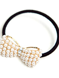 cheap -Wild Sweet Little Pearl Bow Hair Band / Hair Rope Random Deliverys