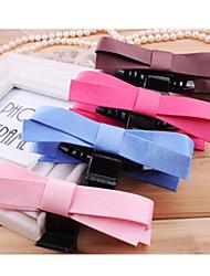 Недорогие -красивые аксессуары для волос головной убор ткань лук захват случайной доставки