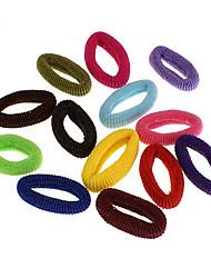 Недорогие -высокие упругие конфеты цветные ленты для волос случайные поставки