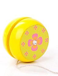 Недорогие -разнообразно изображения деревянные классические йо-йо игрушка 1шт