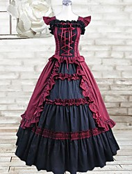 cheap -Gothic Lolita Dress Dress Cosplay Sleeveless Long Length Costumes