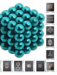 cheap -64 pcs Magnet Toy Building Blocks Super Strong Rare-Earth Magnets Neodymium Magnet Metal Adults' Boys' Girls' Toy Gift