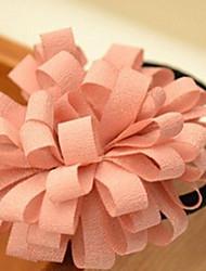 Недорогие -красивые ленты для волос романтический хризантемы веревка случайной доставки
